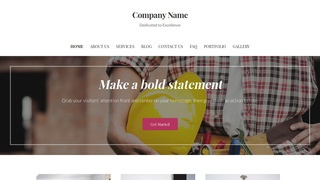 Uptown Style Home Builder WordPress Theme