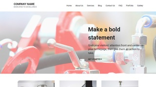 Mins Hose Supplier WordPress Theme