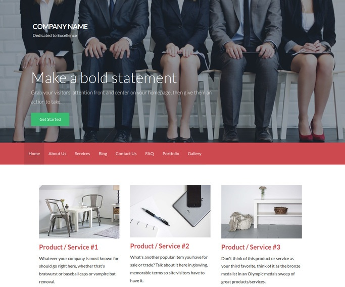Activation Human Resource Services WordPress Theme
