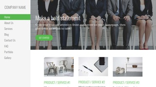 Escapade Human Resource Services WordPress Theme