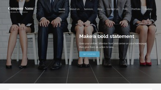Lyrical Human Resource Services WordPress Theme