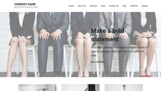 Mins Human Resource Services WordPress Theme