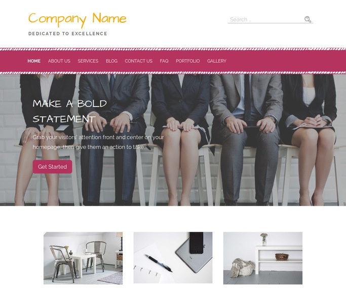 Scribbles Human Resource Services WordPress Theme