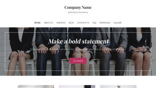 Uptown Style Human Resource Services WordPress Theme