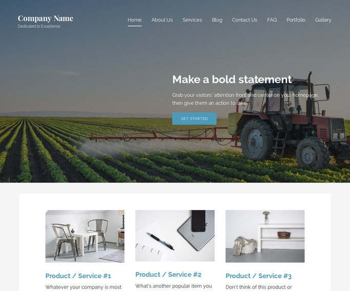 Lyrical Hydroponics Equipment WordPress Theme