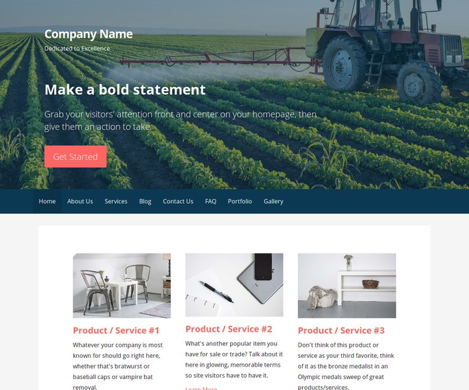 Primer Hydroponics Equipment WordPress Theme