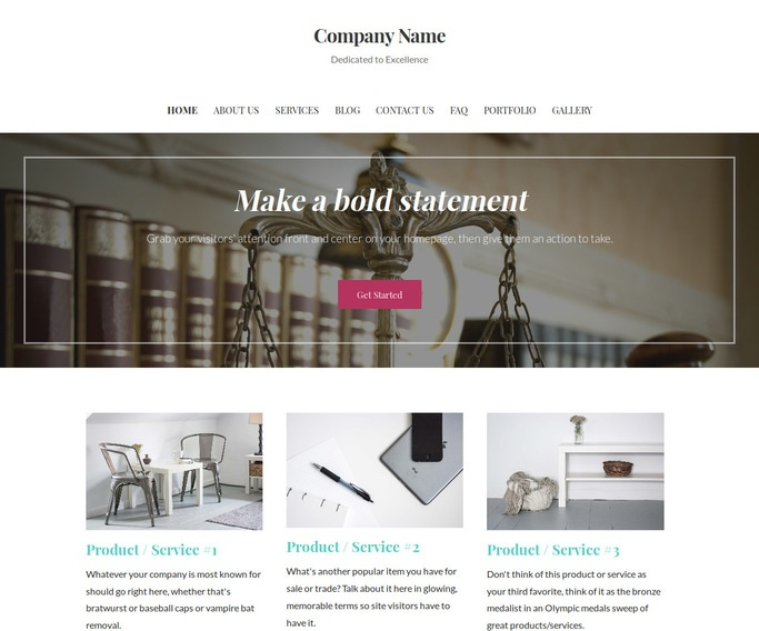 Uptown Style Insurance Law WordPress Theme
