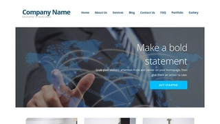 Ascension International Business and Trade Service  WordPress Theme