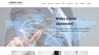Mins International Business and Trade Service  WordPress Theme