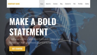 Stout International Business and Trade Service  WordPress Theme