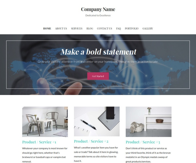 Uptown Style International Business and Trade Service  WordPress Theme