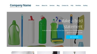 Ascension Janitorial Equipment WordPress Theme