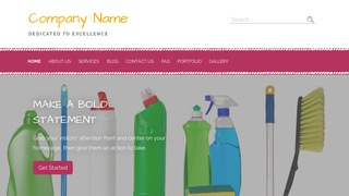 Scribbles Janitorial Equipment WordPress Theme