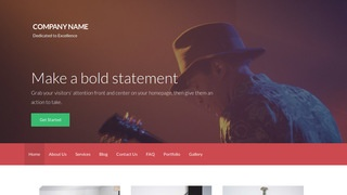 Activation Jazz or Blues WordPress Theme
