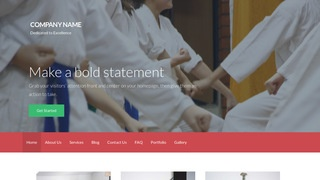 Activation Judo School WordPress Theme
