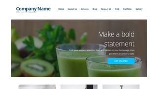 Ascension Juice Bar WordPress Theme