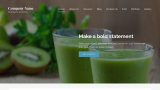 Lyrical Juice Bar WordPress Theme