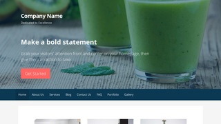 Primer Juice Bar WordPress Theme