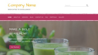 Scribbles Juice Bar WordPress Theme