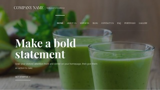 Velux Juice Bar WordPress Theme