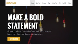 Stout Lamp Repair WordPress Theme