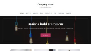 Uptown Style Lamp Repair WordPress Theme