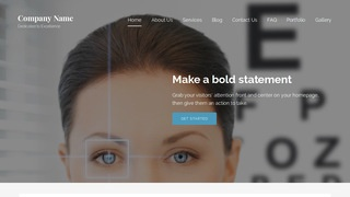 Lyrical Laser Eye Surgery and Lasik WordPress Theme