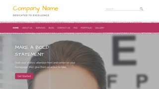 Scribbles Laser Eye Surgery and Lasik WordPress Theme