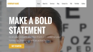 Stout Laser Eye Surgery and Lasik WordPress Theme