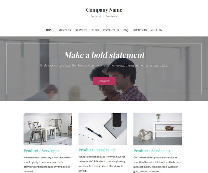Uptown Style Leasing Service WordPress Theme