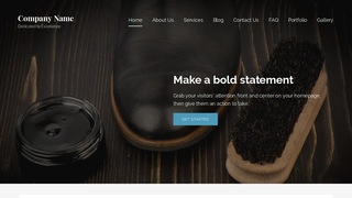 Lyrical Leather Cleaning and Repair WordPress Theme
