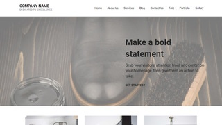 Mins Leather Cleaning and Repair WordPress Theme