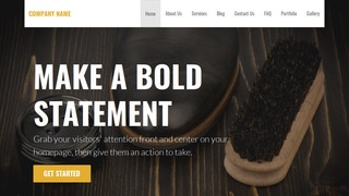Stout Leather Cleaning and Repair WordPress Theme