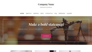 Uptown Style Legal Service WordPress Theme
