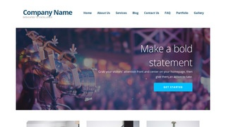 Ascension Live Music WordPress Theme