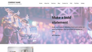 Mins Live Music WordPress Theme