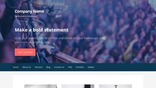 Primer Live Music WordPress Theme