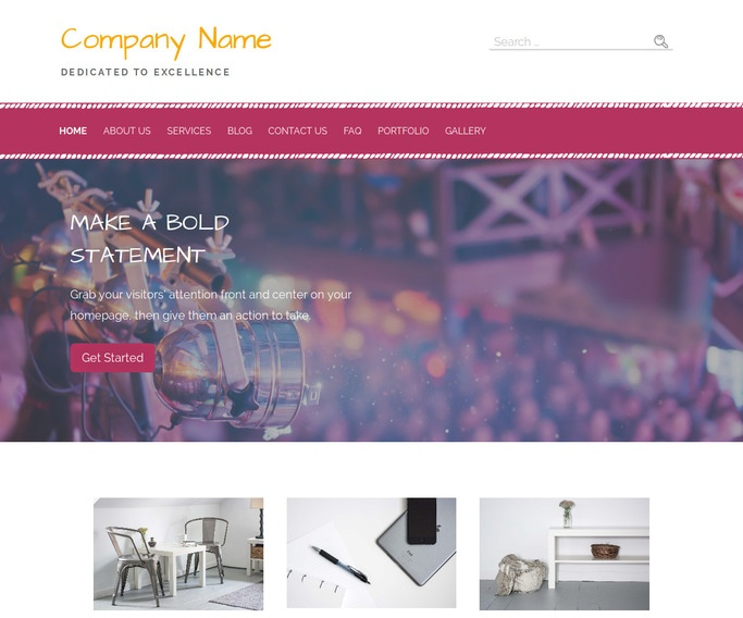 Scribbles Live Music WordPress Theme