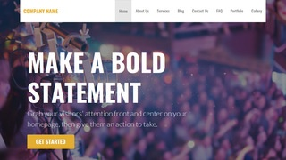 Stout Live Music WordPress Theme
