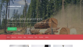 Activation Logging Services WordPress Theme