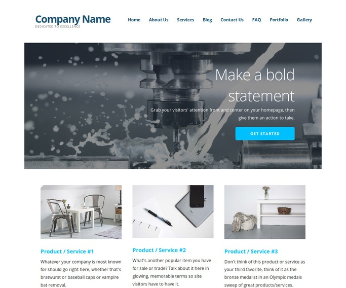 Ascension Machine Knife Supplier WordPress Theme