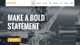 Stout Machine Knife Supplier WordPress Theme