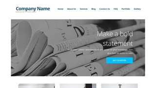 Ascension Newspapers and Magazines WordPress Theme