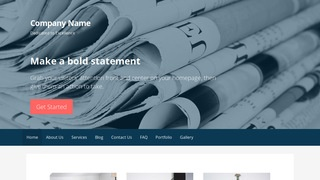 Primer Newspapers and Magazines WordPress Theme