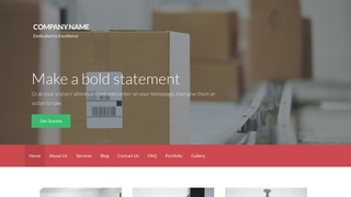 Activation Mailing and Shipping Service WordPress Theme