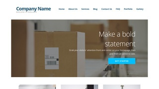 Ascension Mailing and Shipping Service WordPress Theme