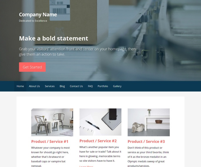 Primer Mailing and Shipping Service WordPress Theme