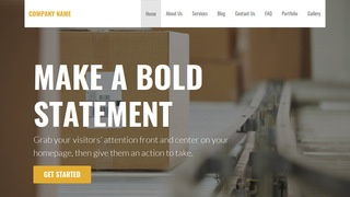 Stout Mailing and Shipping Service WordPress Theme