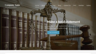 Lyrical Malpractice Law WordPress Theme