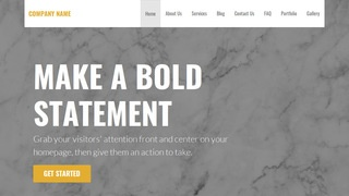 Stout Marble WordPress Theme